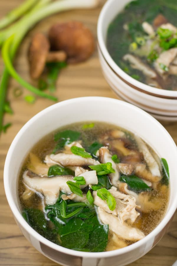 Chicken And Mushroom Soup Salu Salo Recipes