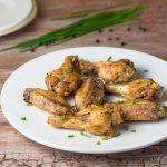Crispy Baked Salt and Pepper Chicken Wings