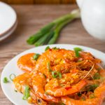 Garlic Shrimp with Chili Sauce