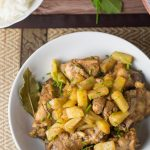 Pineapple Chicken Adobo