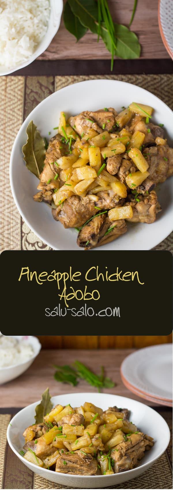 Pineapple Chicken Adobo