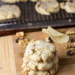 Potato Chip Walnut Cookies