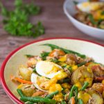 Salad Nicoise with Mango Dressing