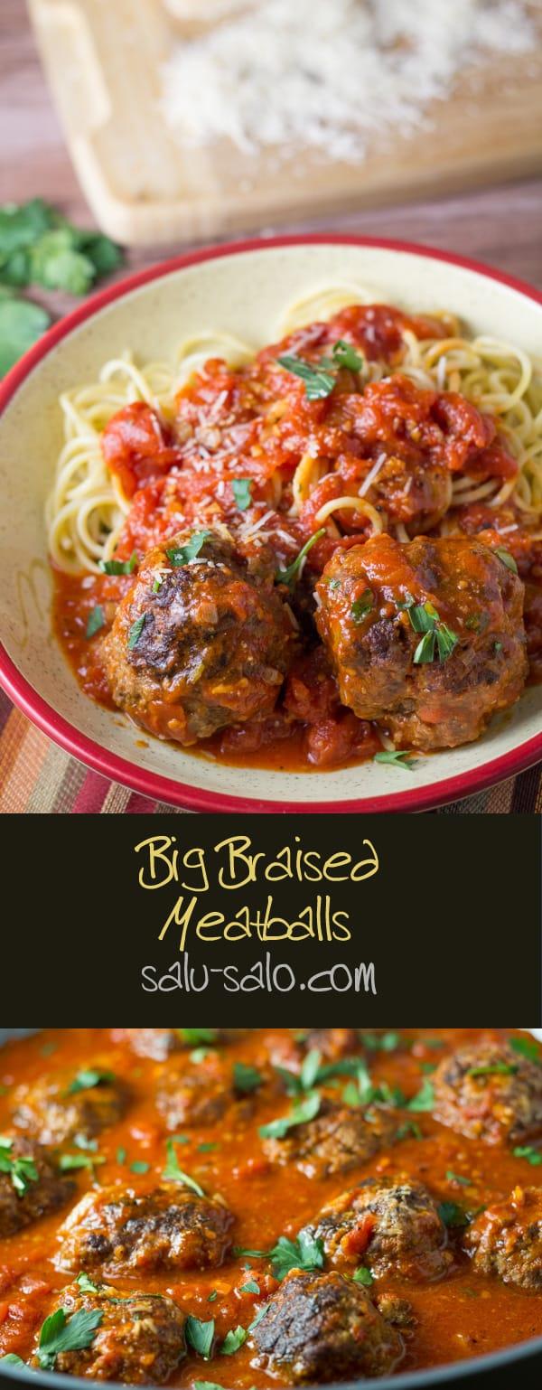 Big Braised Meatballs