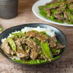 Steak and Snow Peas Stir Fry