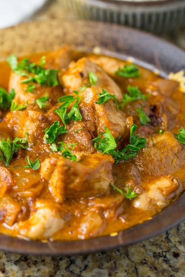Creamy Mild Chicken Curry-4