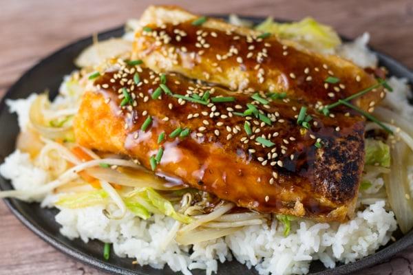 Salmon Belly Teriyaki