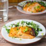 Salmon with Sweet Chili Sauce