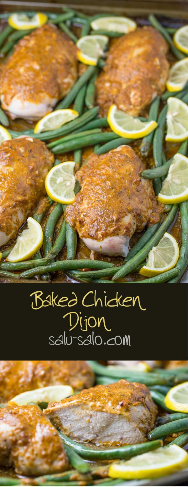 Baked Chicken Dijon
