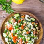 Middle Eastern Vegetable Salad