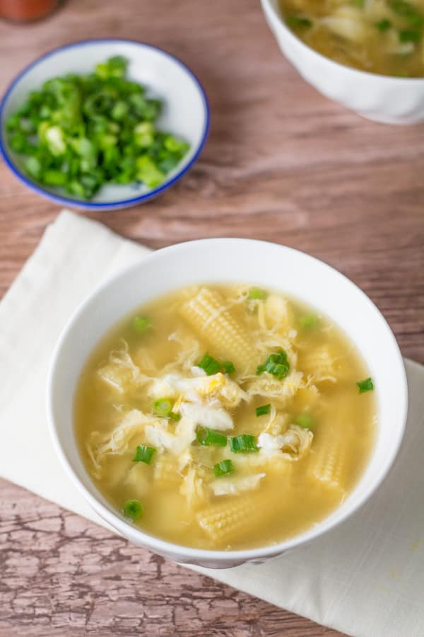 Egg Drop Soup with Crab