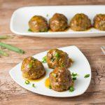 Soy Glazed Meatballs