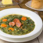 Caldo Verde (Portuguese Kale and Sausage Soup)