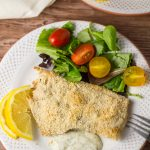Crumb Crusted Baked Snapper