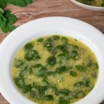 Suwam na Mais (Corn and Moringa Soup)