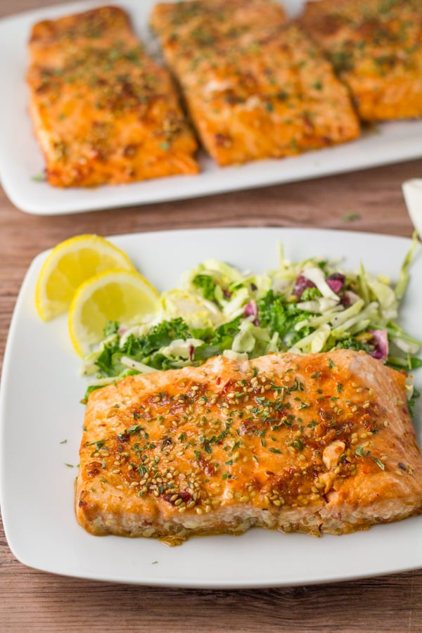 Glazed Sesame Salmon