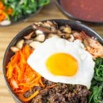 Bibimbap Serving Suggestion