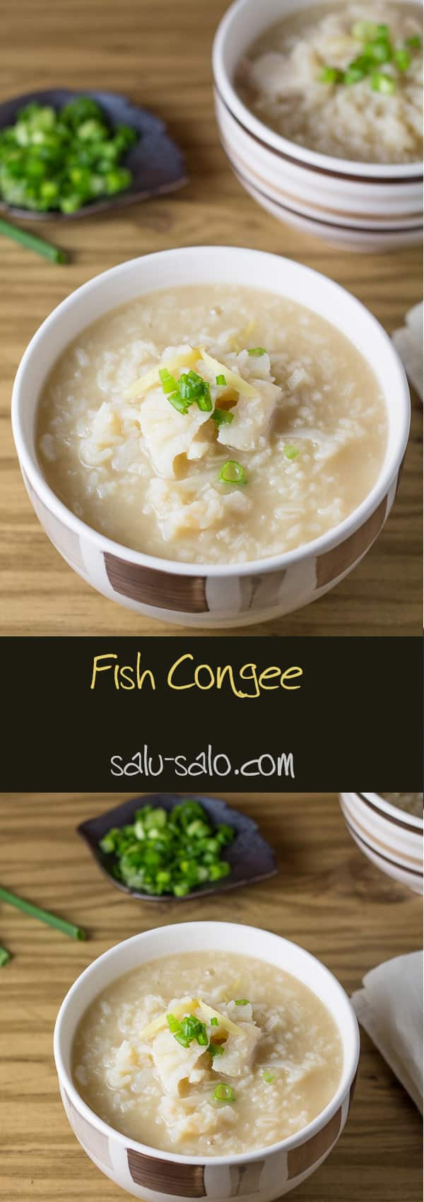 Fish Congee Multiple Images Combined